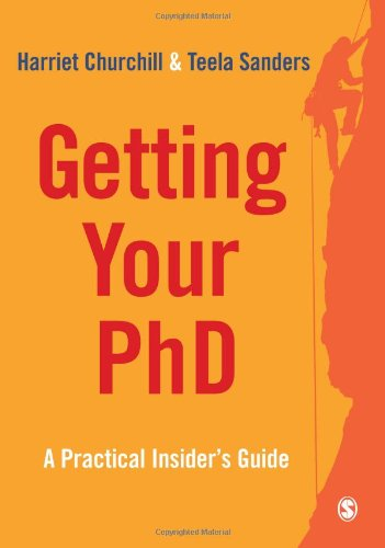 Getting Your PhD By Harriet Churchill