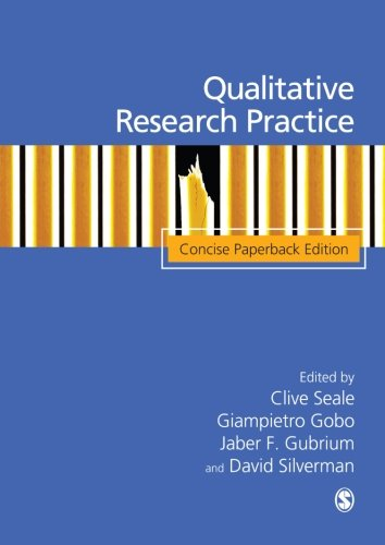 Qualitative Research Practice By Edited by Clive Seale