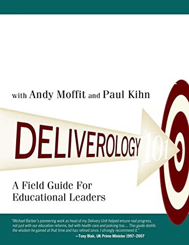 Deliverology 101 By Michael Barber