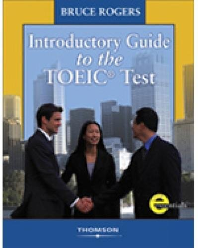 Introductory Guide to TOEIC Test By Bruce Rogers