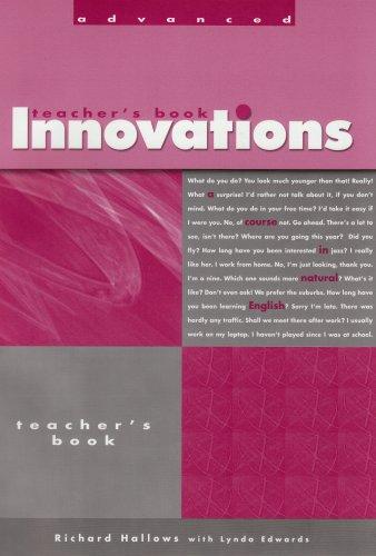 Innovations Advanced By Hugh Dellar