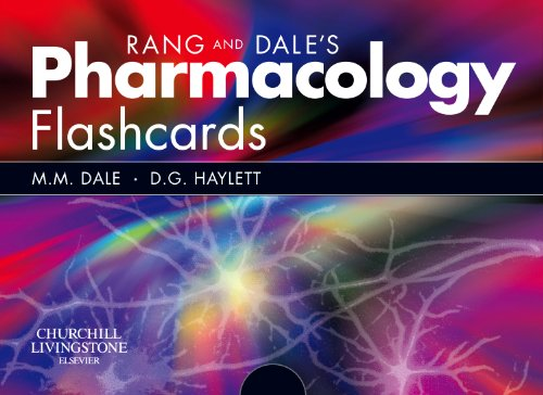 Rang and Dale's Pharmacology Flash Cards By Maureen M. Dale