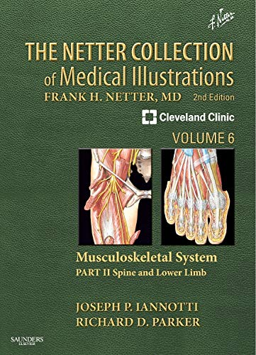 The Netter Collection of Medical Illustrations: Musculoskeletal System, Volume 6, Part II - Spine and Lower Limb By Joseph P Iannotti, M.D., Ph.D. (Chairman, Orthopaedic and Rheumatologic InstitutebrThe Cleveland Clinic)