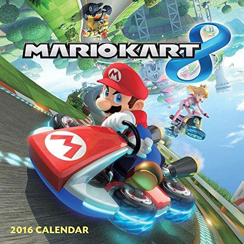Mario Kart 2016 (Abrams Calendars) By Nintendo Book The