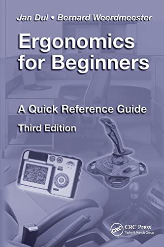 Ergonomics for Beginners By Jan Dul