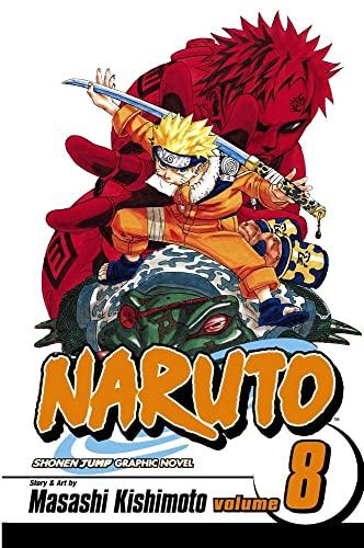 Naruto: v. 8 by Masashi Kishimoto