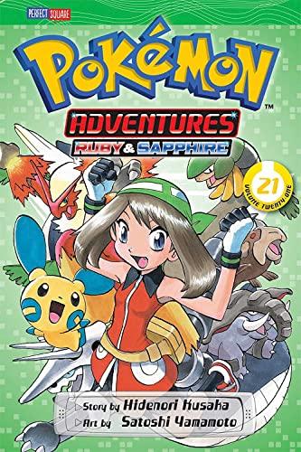 Pokemon Adventures (Ruby and Sapphire), Vol. 21 By Satoshi Yamamoto