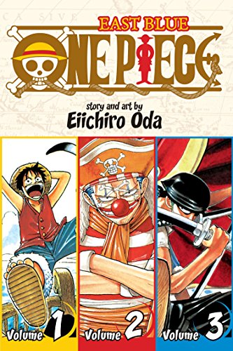 One Piece (3-in-1 Edition) Volume 1 (One Piece (Omnibus Edition)) By Eiichiro Oda