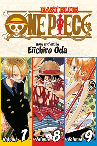 One Piece (3-in-1 Edition) Volume 3 (One Piece (Omnibus Edition)) By Eiichiro Oda