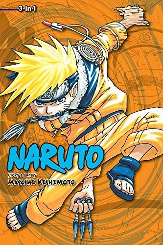 NARUTO 3IN1 TP VOL 02 (C: 1-0-1) (Naruto (3-in-1 Edition)) By Masashi Kishimoto