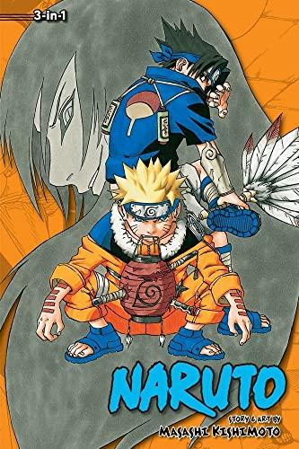 NARUTO 3IN1 TP VOL 03 (C: 1-0-1) (Naruto (3-in-1 Edition)) By Masashi Kishimoto
