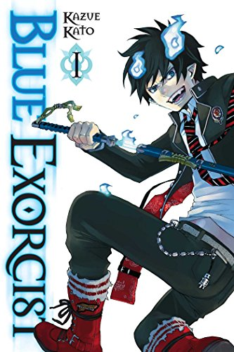 Blue Exorcist Volume 1 By Kazue Kato
