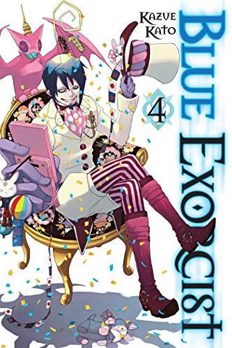 Blue Exorcist Volume 4 By Kazue Kato
