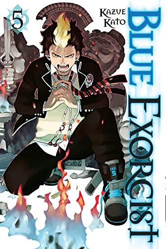 Blue Exorcist Volume 5 By Kazue Kato