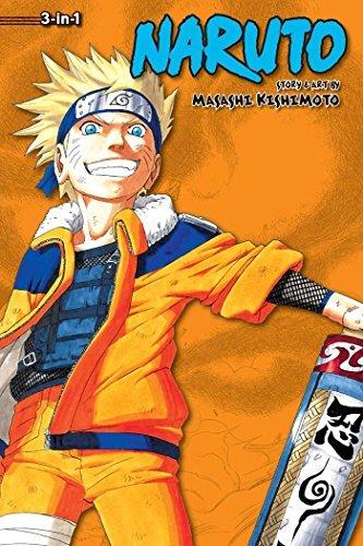 NARUTO 3IN1 TP VOL 04 (C: 1-0-1) (Naruto (3-in-1 Edition)) By Masashi Kishimoto