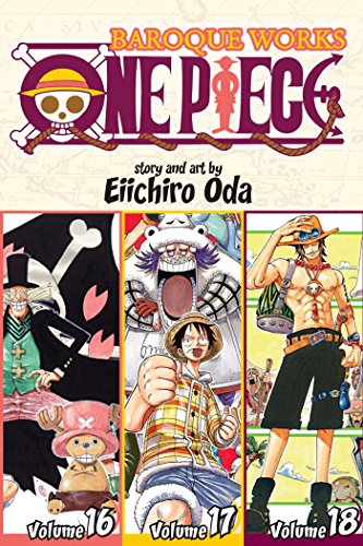 One Piece (3-in-1 Edition) Volume 6 (One Piece (Omnibus Edition)) By Eiichiro Oda