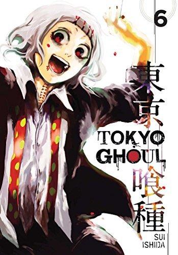 Tokyo Ghoul Volume 6 By Sui Ishida