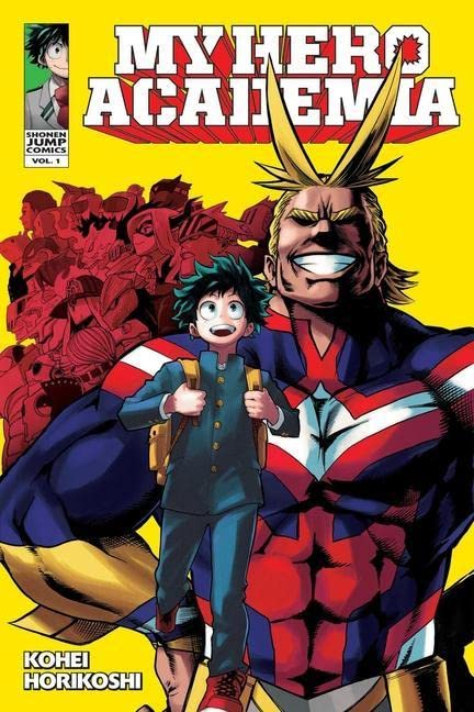My Hero Academia Volume 1 By Kohei Horikoshi