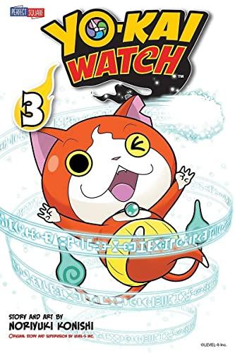 YO-KAI WATCH, Vol. 3 By Noriyuki Konishi