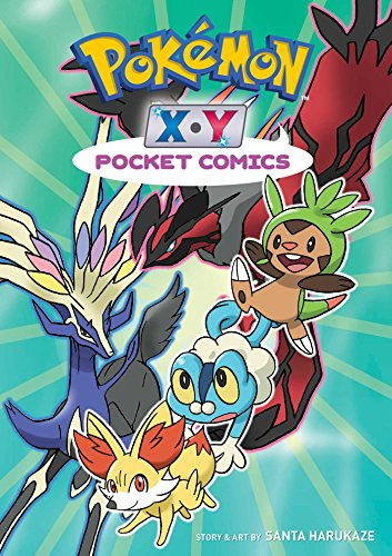 Pokemon X * Y Pocket Comics By Santa Harukaze