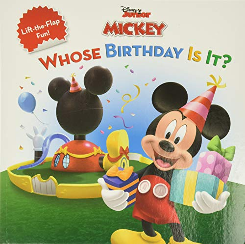 Mickey Mouse Clubhouse Whose Birthday Is It? By Disney Books