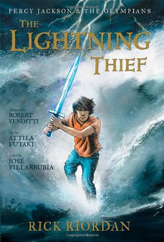 Percy Jackson and the Olympians the Lightning Thief: The Graphic Novel von Rick Riordan