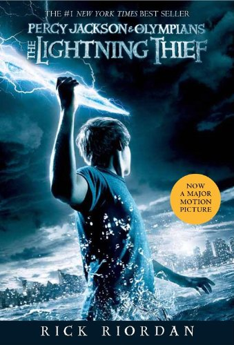 Percy Jackson and the Olympians, Book One the Lightning Thief (Movie Tie-In Edition) By Rick Riordan