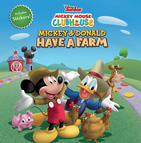 Mickey Mouse Clubhouse Mickey and Donald Have a Farm von Disney Books