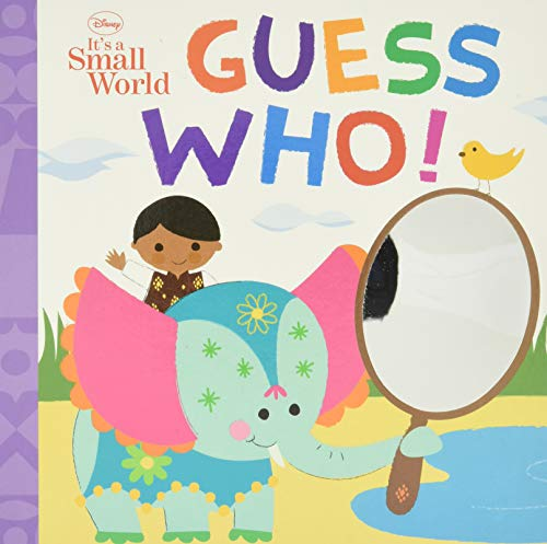 Disney It's a Small World Guess Who! By Disney Book Group