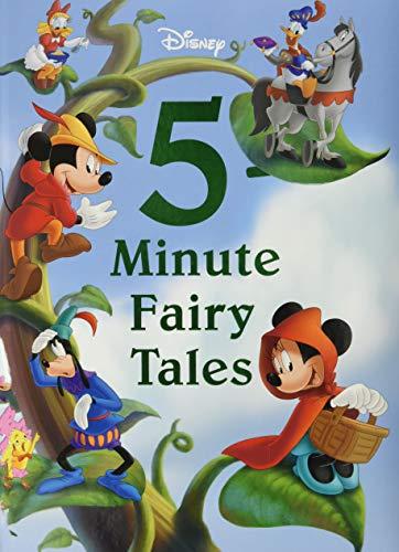 Disney 5-Minute Fairy Tales By Disney Books