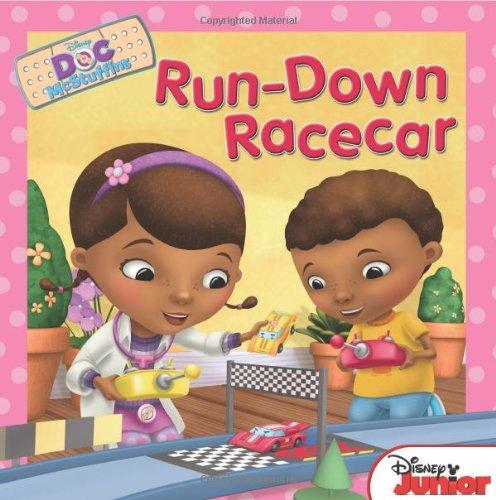 Doc McStuffins Run-Down Racecar By Disney Book Group