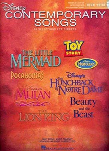 Disney Contemporary Songs By Hal Leonard Publishing Corporation