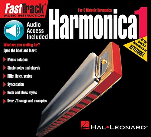 FastTrack Harmonica1 [With CD] (FastTrack Music Instruction) By Jeff Schroedl