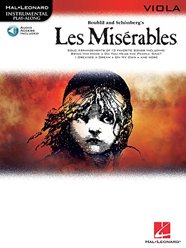 Les Miserables Play-Along Pack - Viola By By (composer) Alain Boublil