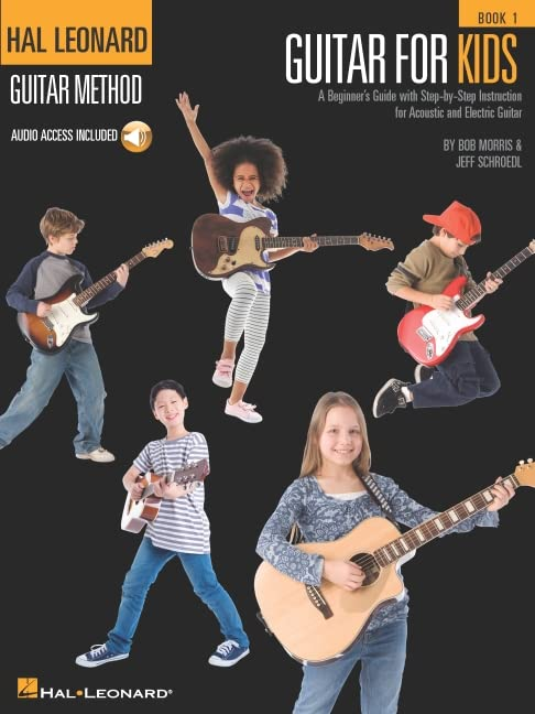 Hal Leonard Guitar Method - Guitar for Kids 1 By Bob Morris