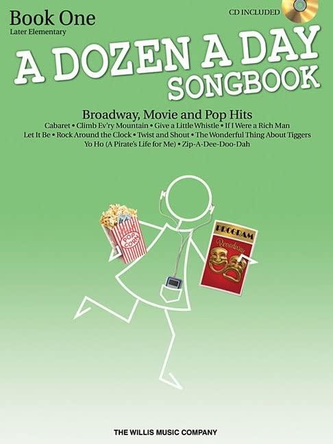 A Dozen a Day Songbook By Carolyn Miller