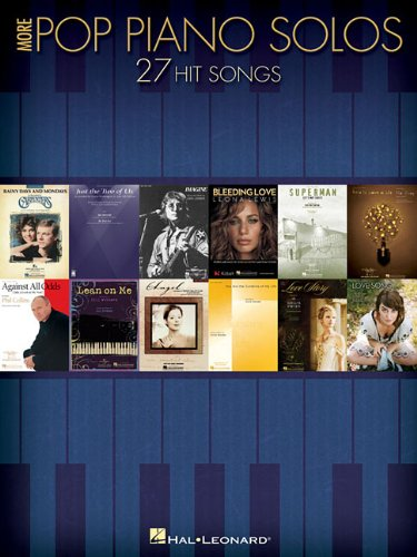 More Pop Piano Solos By Hal Leonard Publishing Corporation