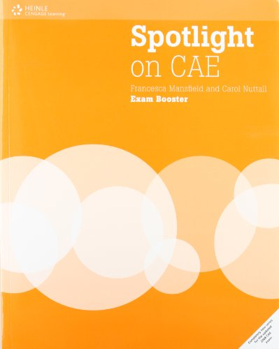 Spotlight on CAE: Exam Booster with Audio CD and DVD (without Answer Key) By Francesca Mansfield