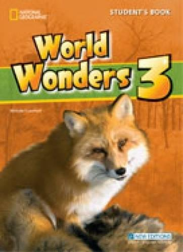 World Wonders 3 with Audio CD By Michele Crawford