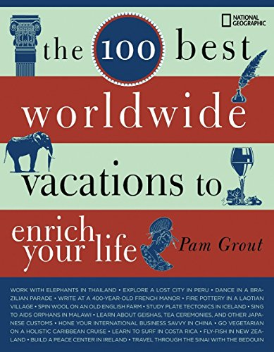 The 100 Best Worldwide Vacations to Enrich Your Life by Pam Grout