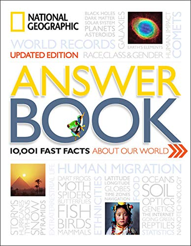 National Geographic Answer Book, Updated Edition By National Geographic