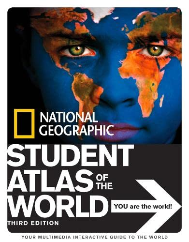 National Geographic Student Atlas of the World By National Geographic Kids