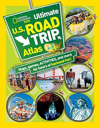 Kids Ultimate Road Atlas By Crispin Boyer
