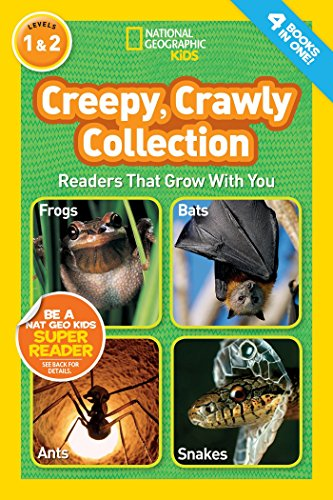 National Geographic Kids Readers: Creepy Crawly Collection By National Geographic Kids