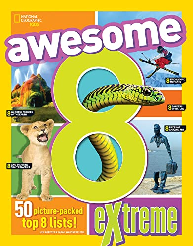 Awesome 8 Extreme By National Geographic Kids