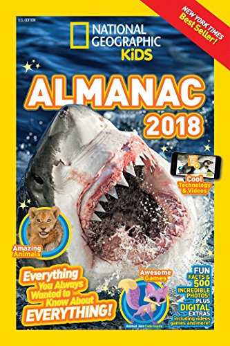 National Geographic Kids Almanac 2018 (Infopedia ) by National Geographic Kids