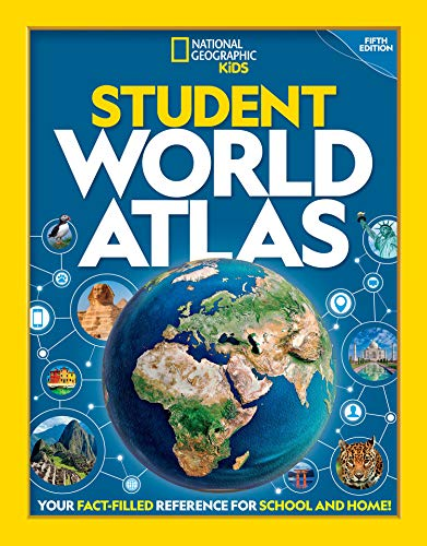 National Geographic Student World Atlas By National Geographic Kids