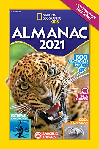 National Geographic Kids Almanac 2021, U.S. Edition von National Geographic Kids