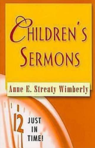 Children's Sermons By A. Streaty Wimberly