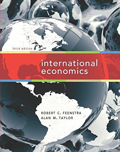 International Economics by Robert Christopher Feenstra